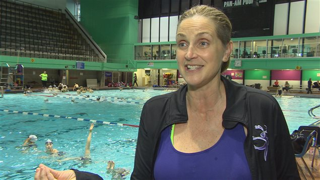 Sylvie Fréchette, championne olympique et entraîneuse de nage synchronisée