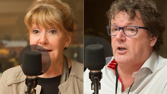 Louise Deschâtelets et Jacques Létourneau