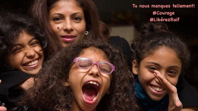 La famille de Raif Badawi
