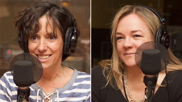 Anne-Marie Séguin et Marcia Pilote (archives)