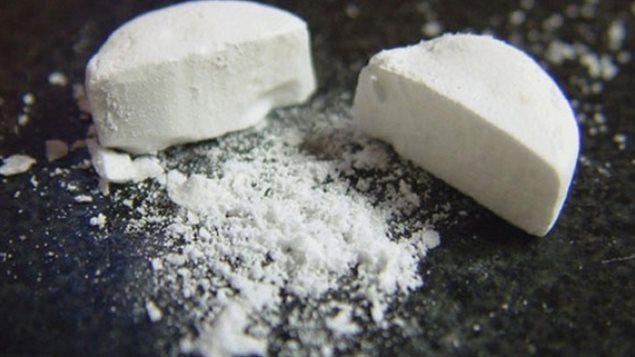 Des policiers ont saisie 1000 pilules de fentanyl à Edmonton.