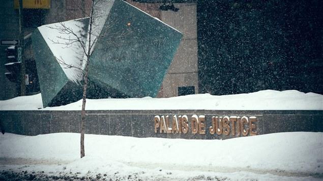 Le palais de justice de Montréal