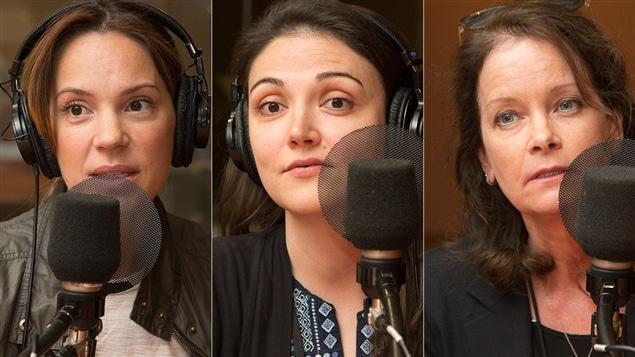 Geneviève Guérard, Catherine Naulleau et Anik Bissonnette