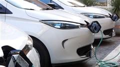 La voiture �lectrique Zo� de Renault