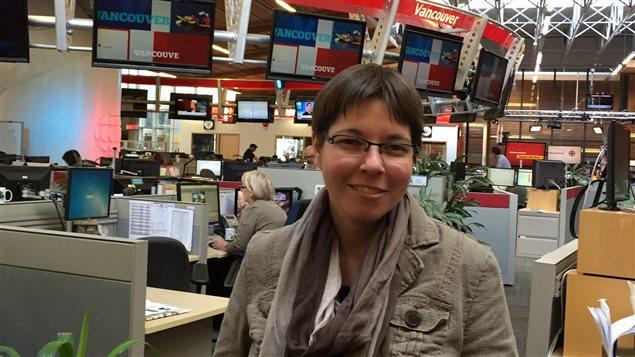 Marie-Christine Payette, réviseuse et directrice des affaires francophones à l'Association Canadienne des Réviseurs.