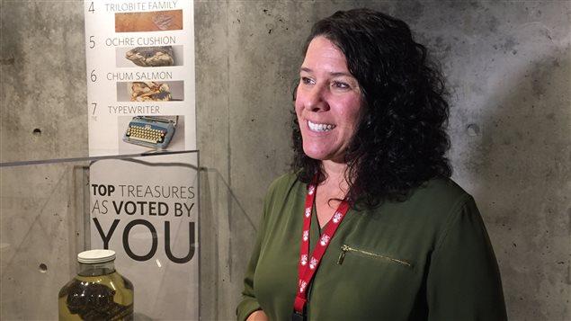Catherine Ouellet-Martin, la directrice administrative du musée Beaty, de UBC