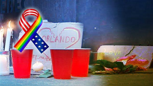 Vigile pour les victimes de la fusillade d'Orlando