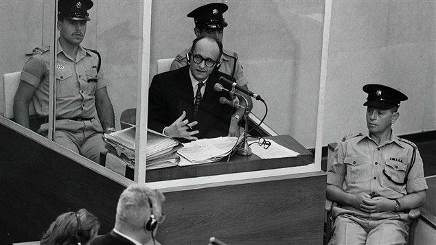 Le procès d'Adolf Eichmann, criminel nazi | Aujourd'hui l'histoire | ICI Radio-Canada Premi�re