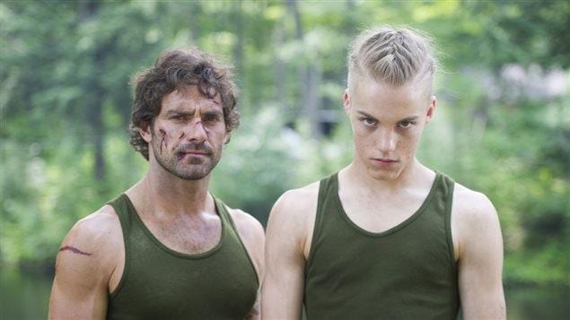 Guillaume Lemay-Thivierge et Antoine Desrochers, deux des comédiens de <em>Nitro Rush</em>