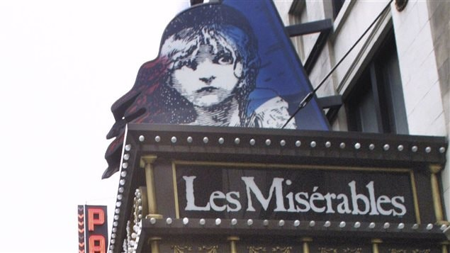 La production « Les Misérables »