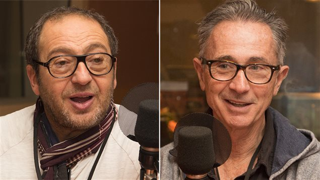 Les comédiens Patrick Timsit et Thierry Lhermitte