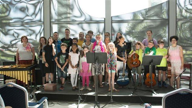 Camp musical de l'École de musique Côte-Nord