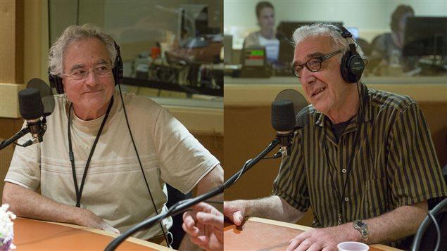 Michel Vaïs, traducteur, et Lamberto Tassinari, auteur de « John Florio, alias Shakespeare »