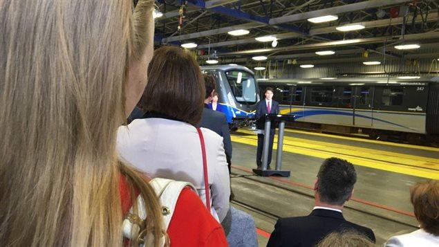 Justin Trudeau à Vancouver
