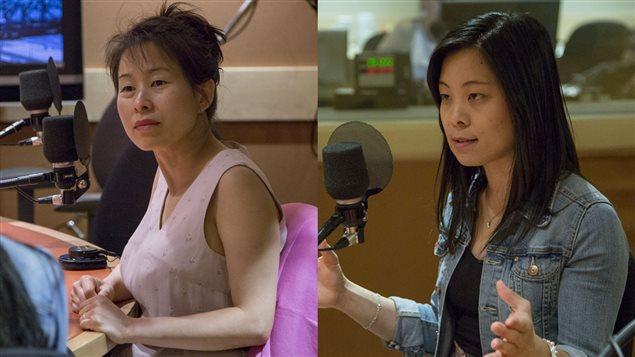 Kim Thúy et Cathy Wong