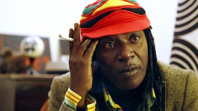 Le chanteur de reggae ivoirien Alpha Blondy.