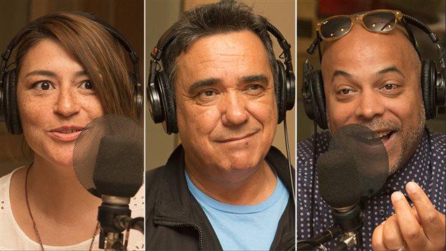Elisapie Isaac, Florent Vollant et Philippe Fehmiu