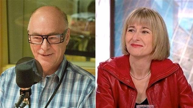 François Lanctôt, traducteur agréé, et Lori Saint-Martin, auteure et traductrice littéraire