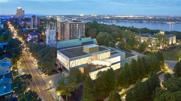 Le Pavillon Pierre Lassonde du Musée national des beaux-arts de Québec