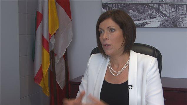 La députée de Jonquière, Karine Trudel