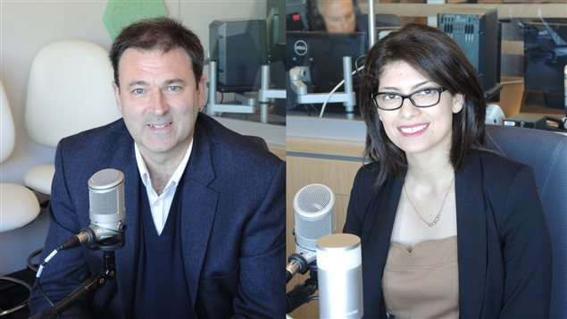 Christian Whalen et Sarah Dennene.