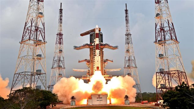 Canadian satellites M3MSat and 'Claire' were launched by the Indian Space Research Organisation from the Satish Dhawan Space Centre in Sriharikota, in southeastern India.