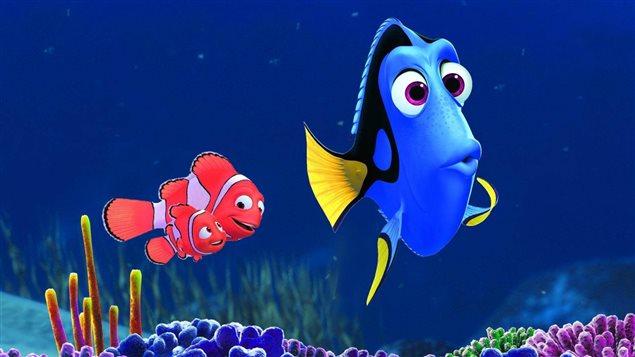 Le poisson chirurgien Doris est en vedette du nouveau film d'animation de Pixar, « Trouver Doris ».