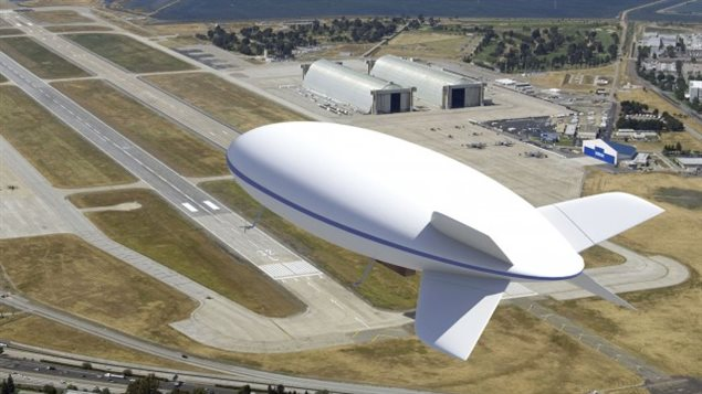 Le dirigeable que veut concevoir et assembler LTA Aérostructures.
