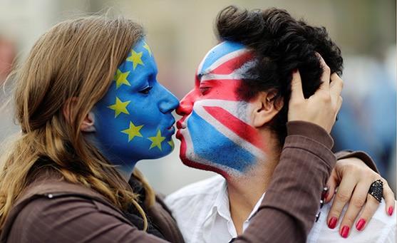 Berlinois-baiser-Europe