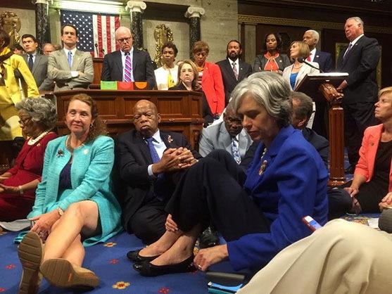 congres-sit-in