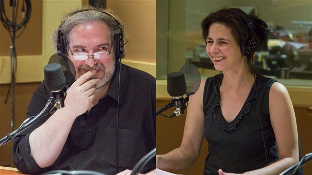 Georges Privet et Helen Faradji
