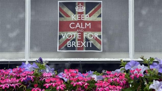 Les Britanniques ont vot� en faveur du rejet de l'Union europ�enne