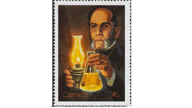 Canada Post stamp issued to commemorate Abraham Gesner considered the father of the modern petroleum industry. A 46 cent stamp was issued in 2000 as part of the 'millenium series'