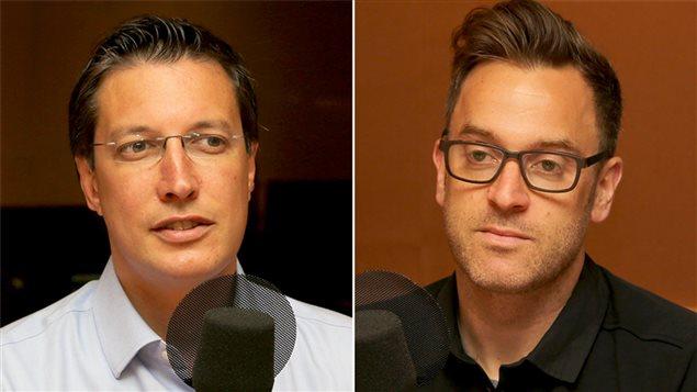 Guillaume Lavoie et Fabien Durif