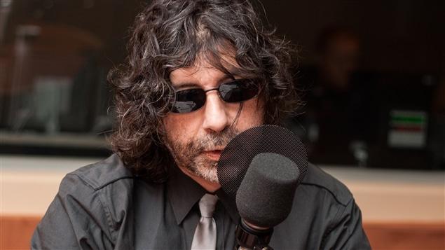 L'écrivain Maurice G. Dantec, en février 2009