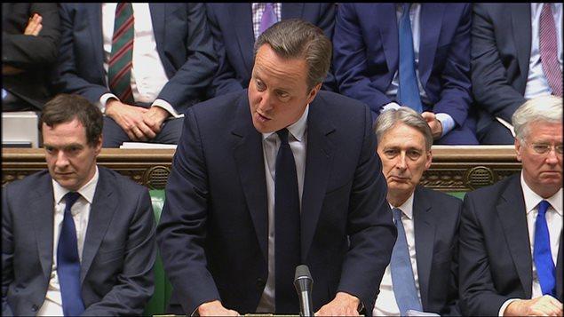 David Cameron ante la Cámara de los Comunes, el 27 de junio del 2016.