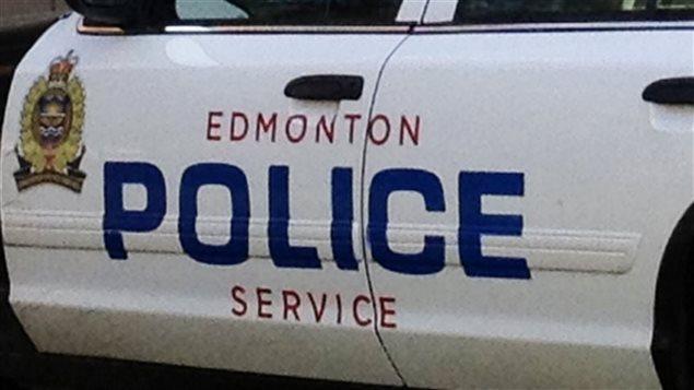 Une autopatrouille de la police d'Edmonton.