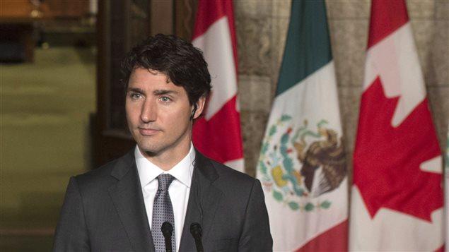 El primer ministro canadiense, Justin Trudeau.