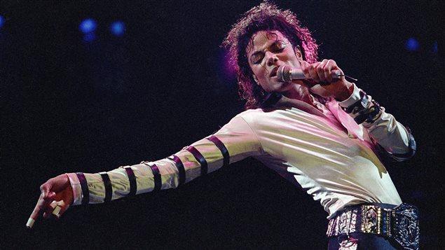 Michael Jackson en concert, en 1988