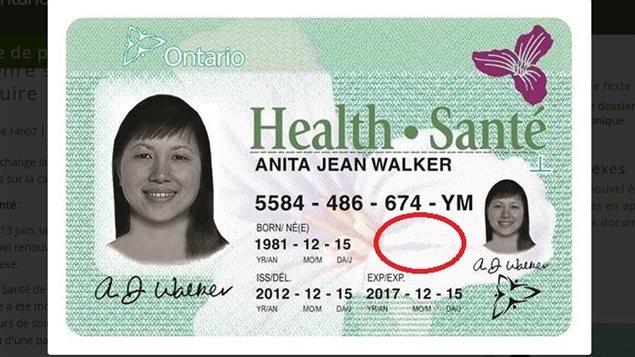 Carte Assurance Maladie Ontario.L Appartenance Sexuelle En Voie De Disparition En Ontario