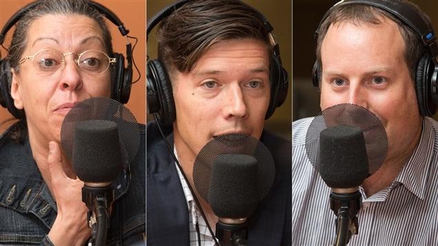 Betty Bonifassi, Patrick Leduc et Antoine Deshaies