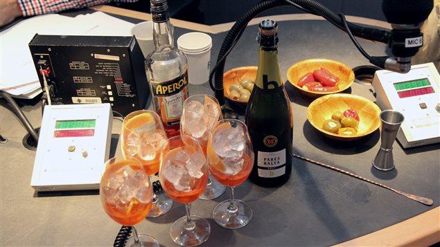 Le spritz, un cocktail facile � concocter