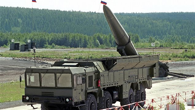 Russia says it plans to station advanced nuclear-capable short-range ballistic missiles in the Russian enclave in Kaliningrad in the Baltics to counteract the U.S. deployment of anti-ballistic missile defence forces in Romania and Poland.