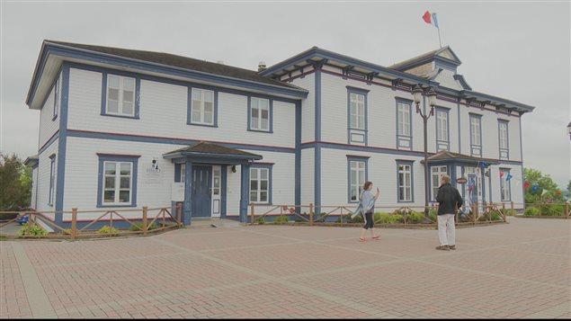 Le musée acadien du Québec, à Bonaventure