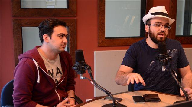 Rayen Tanabene et Zouheir Ben Zaied