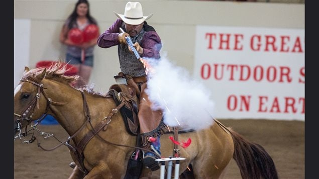 The relatively recent sport of 'cowboy shooting' is big draw, speed, skill, and noise in intense competition