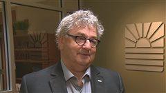 Le maire de Rimouski, Éric Forest.