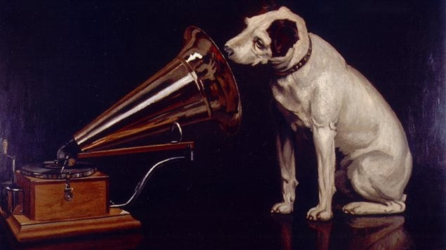 The famous listening dog *Nipper* the symbol of RCA records, Deutsche Gramophon and others was a pit bull, or pit bull mix, possibly with a Jack Russe
