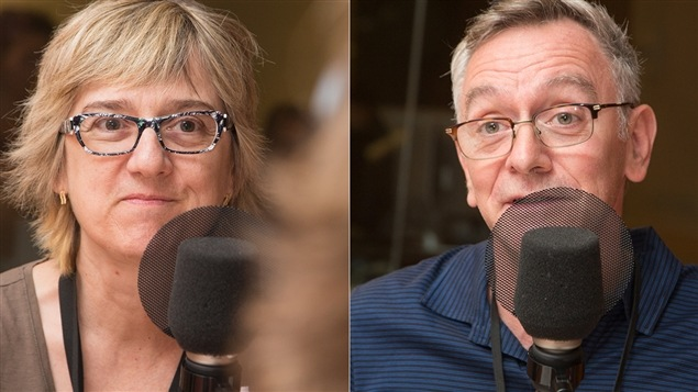 Carole Beaulieu et Michel Marc Bouchard