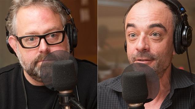 Alexandre Taillefer et Ianick Marcil